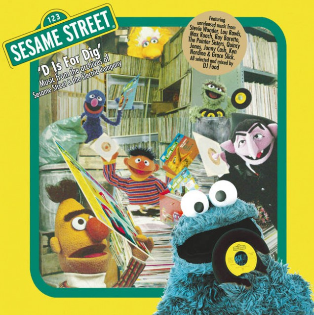 Sesame D Is For Dig cover