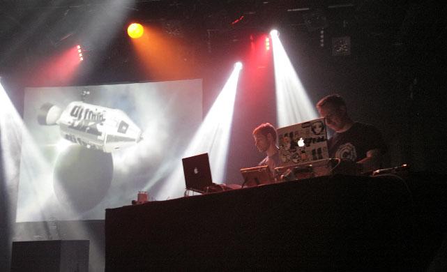 DK & DJ Food at the ICA, London