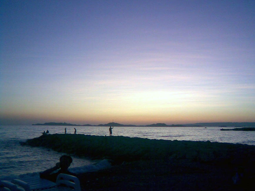 marseille-sunset