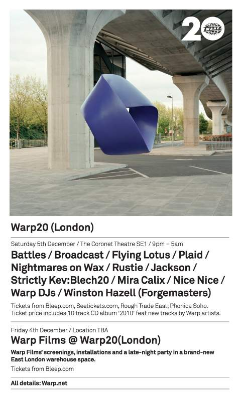 London web flyer