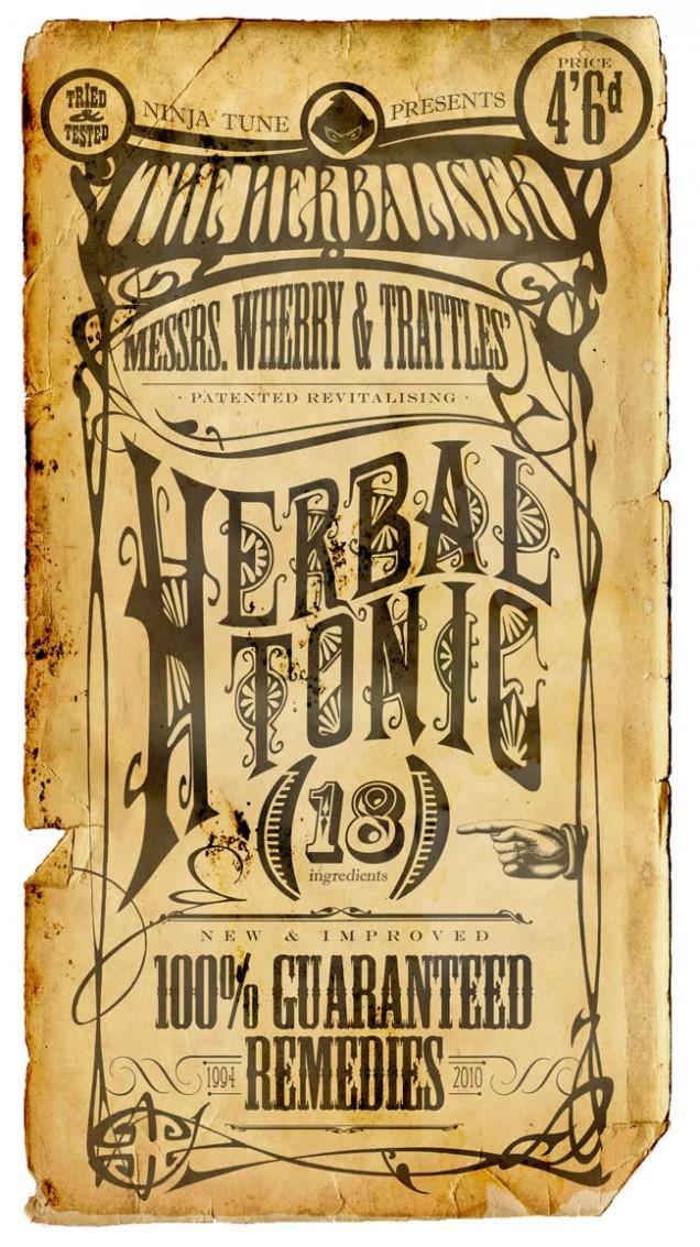 Herbal Tonic label 650