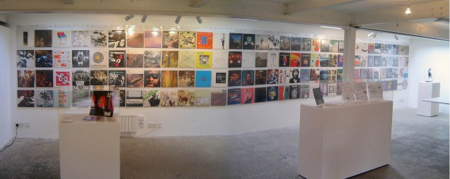Record wall