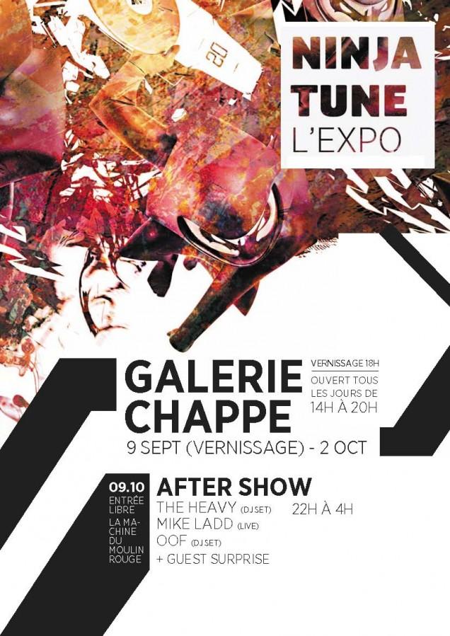 Galerie Chappe Ninja L'expo