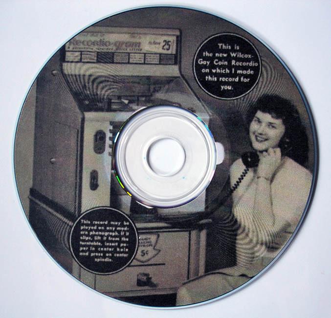 Press cuttings disc