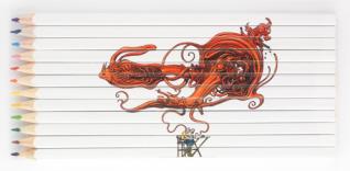 Moebius pencils 1