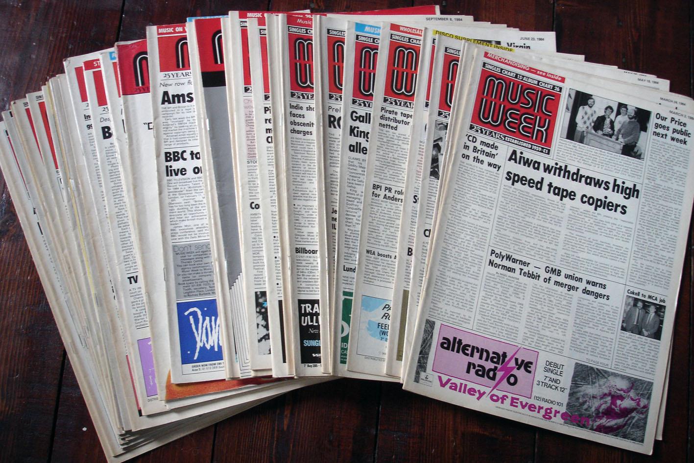 Music Week mags