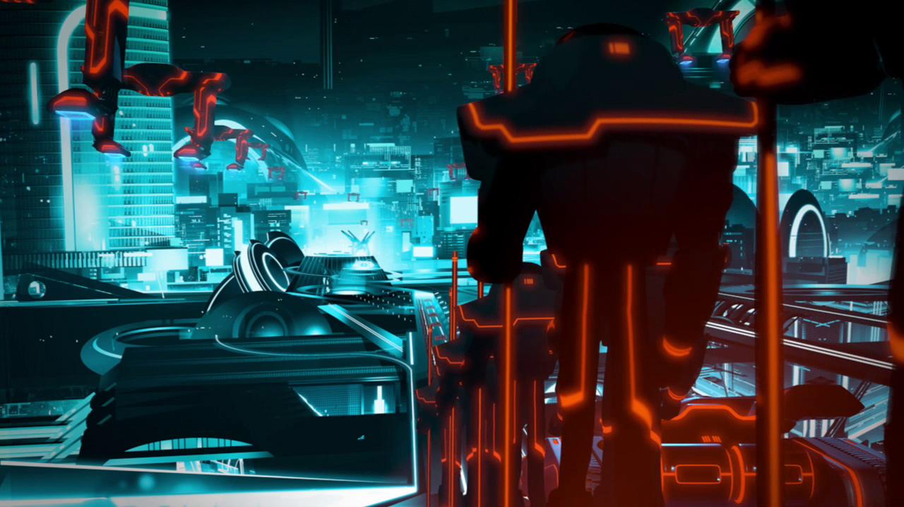 More Tron Uprising concept art   DJ Food
