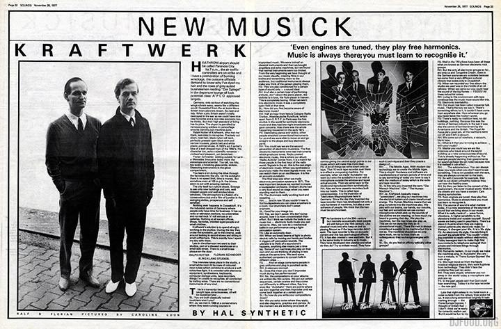 Kraftwerk SOUNDS int. 26-11-77