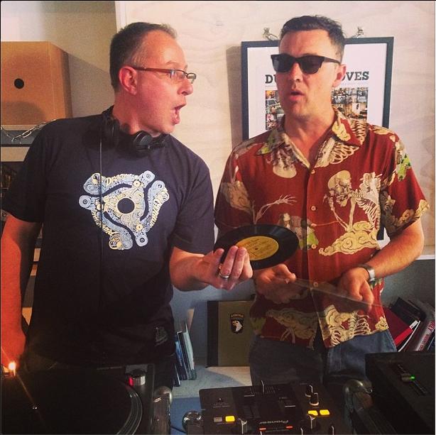 me & Jonny Trunk @ D&G