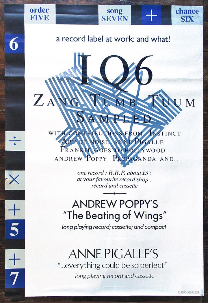 IQ6 Sampled poster