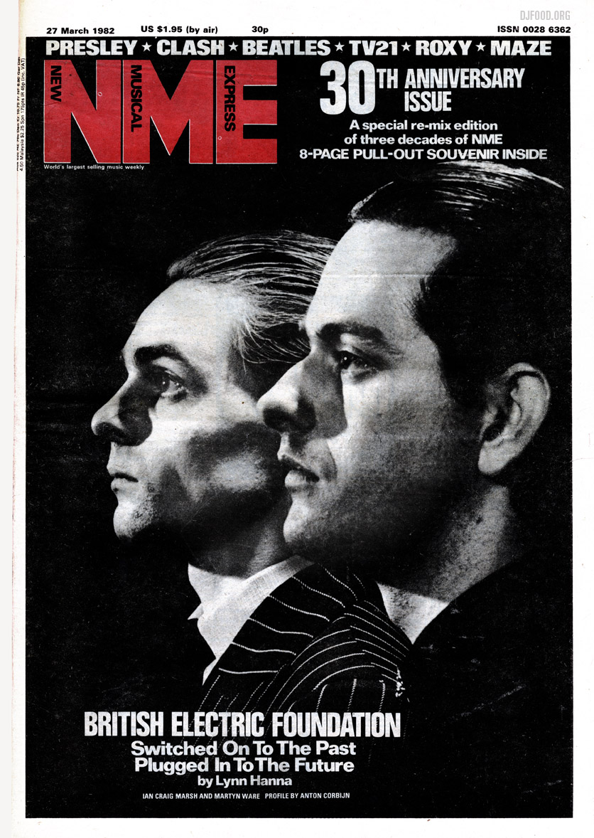 BEF NME cover '82