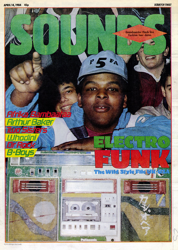 Electro Funk cover Sounds 14.04.84