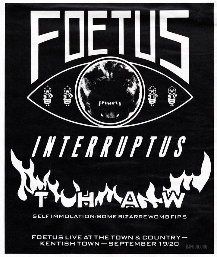 Foetus Thaw ad MM 10-09-88web