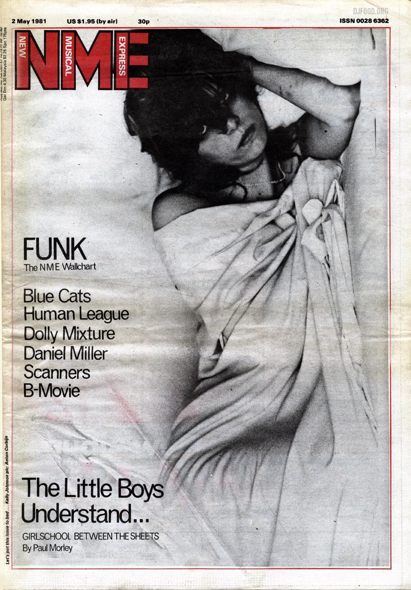 Girlschool NME cover '81