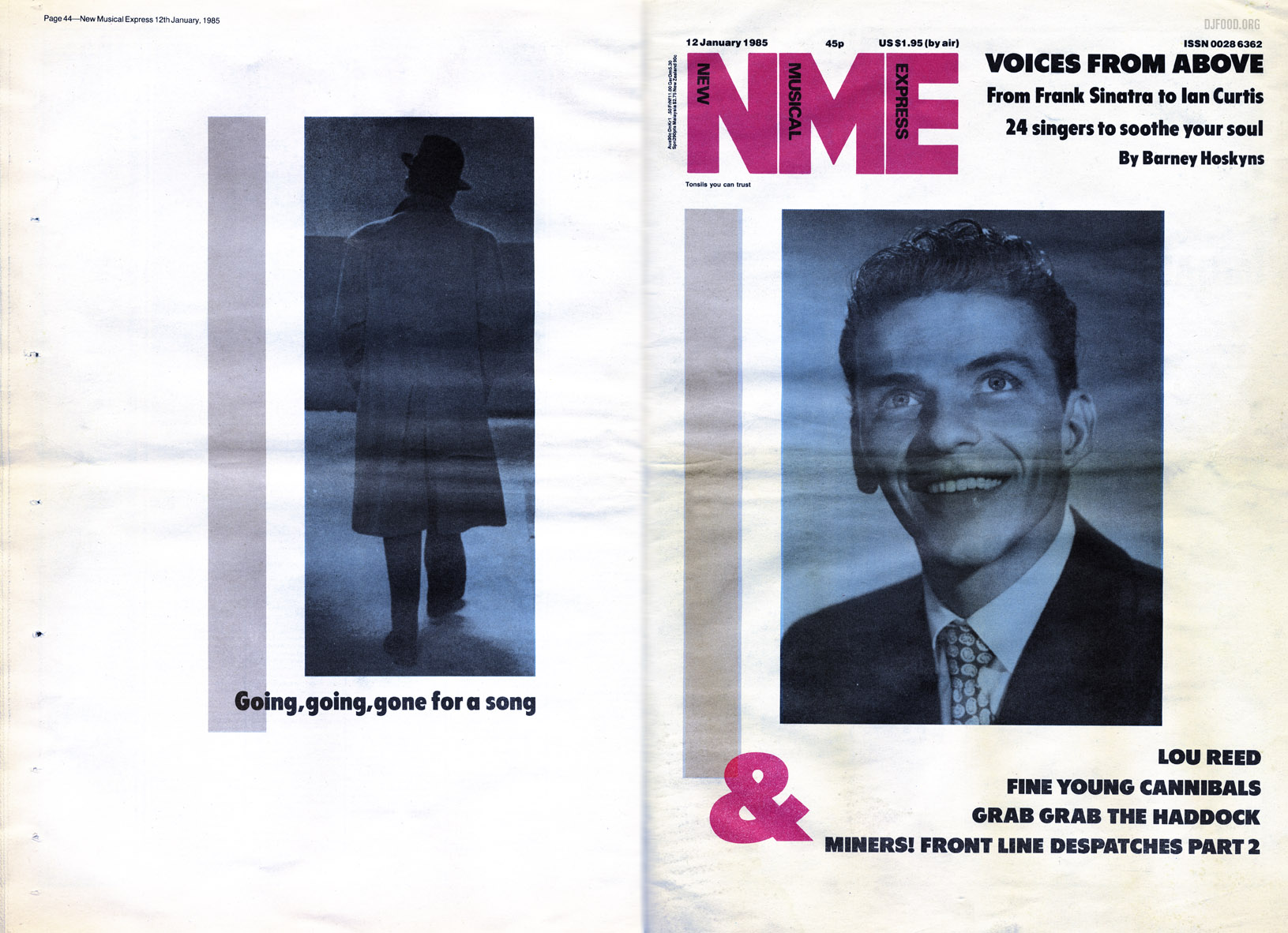 Sinatra, NME Jan '85