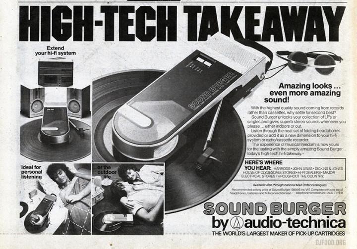 Sound Burger ad SOUNDS Apr 83web