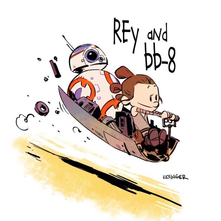 Brian Kesinger Rey&BB8
