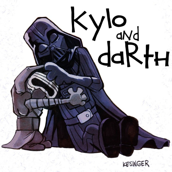 BKesingerKylo + Darth