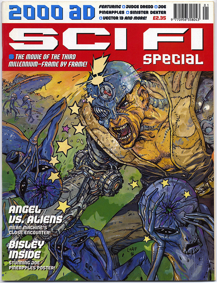 2000AD Sci-FiSpecial1996