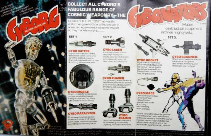 Cyborg booklet