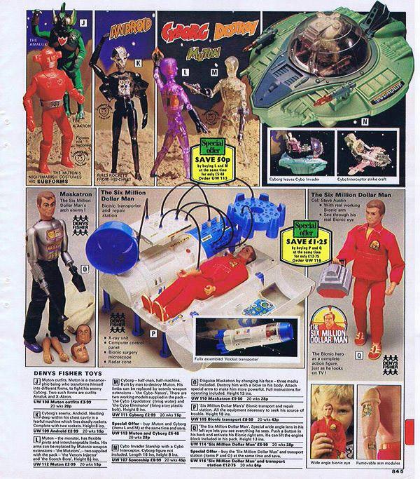 Deny's Fisher toys catalogue