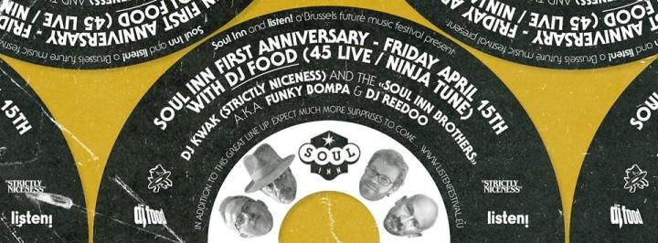 Soul Inn Flyer