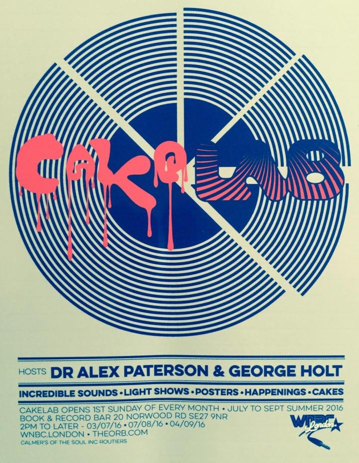 Cakelab poster
