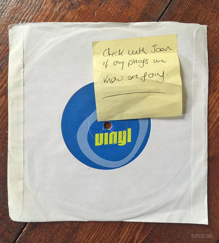 Vinyl 1st Birthday 45