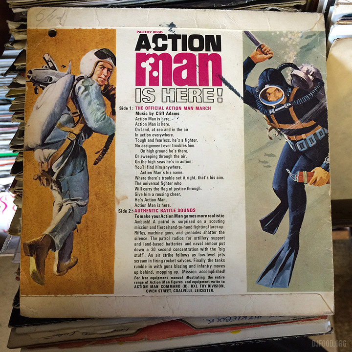 Diskery Action Man
