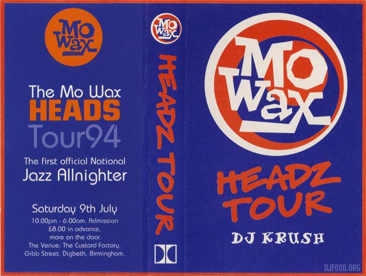 DJ Krush Headz Tour 94 cover web