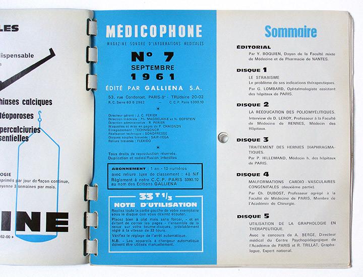 Medicophone inside