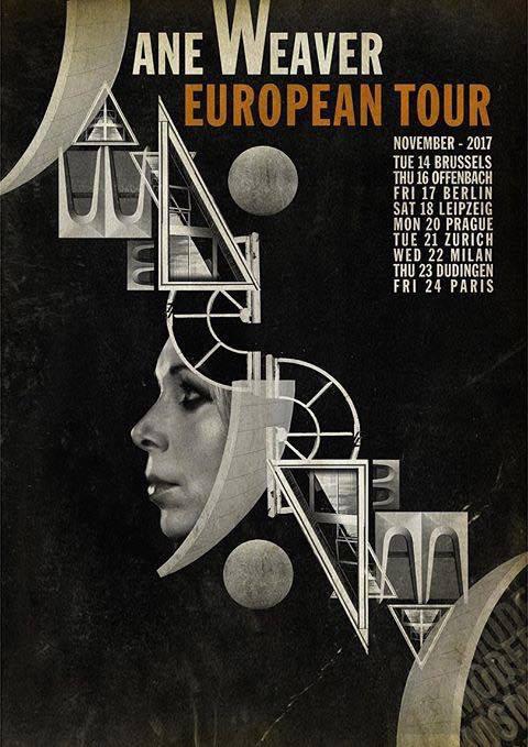 JaneWeaver European Tour