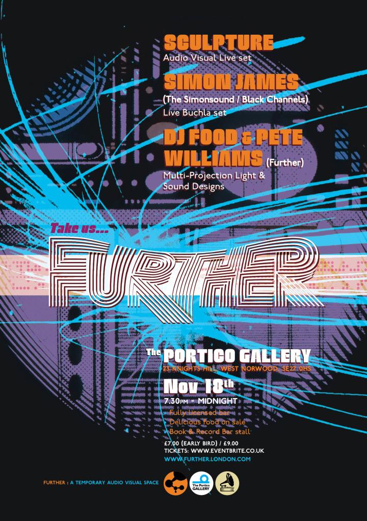 Further Portico 2.5 Poster A3 portrait