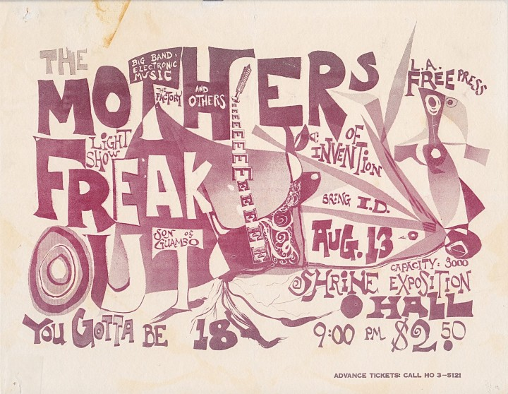 Freak Out poster red