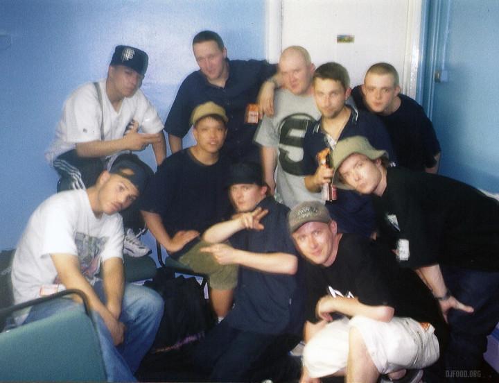 BeastieBoys Backstage support