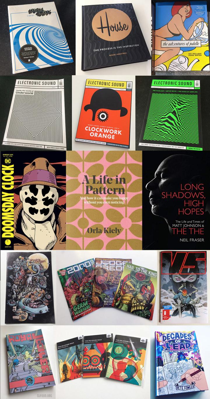 Books + comics