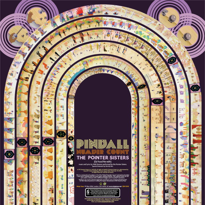 sesame pinball cover