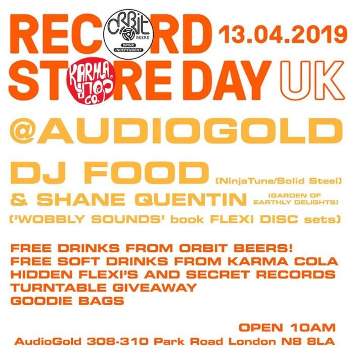 Audiogold flyer RSD19