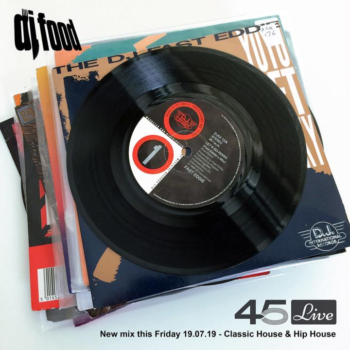 DJ Food 45Live new mix 19.07.19