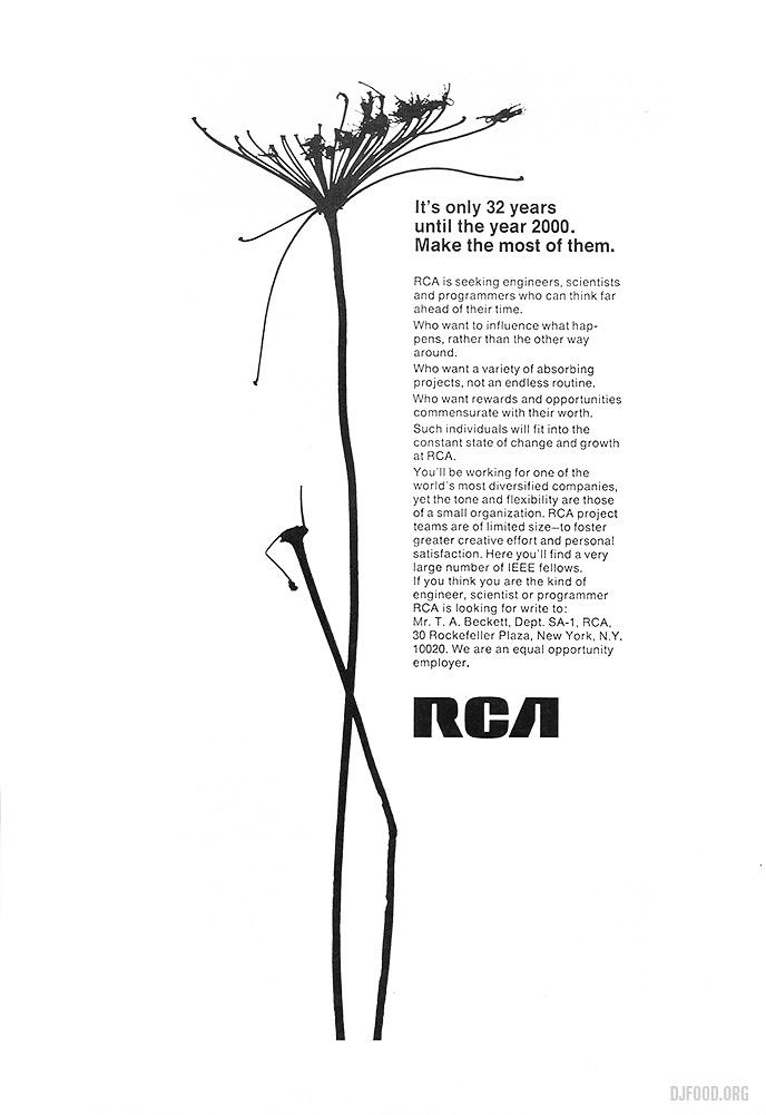RCA flower