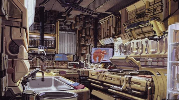 Deckards-apartment