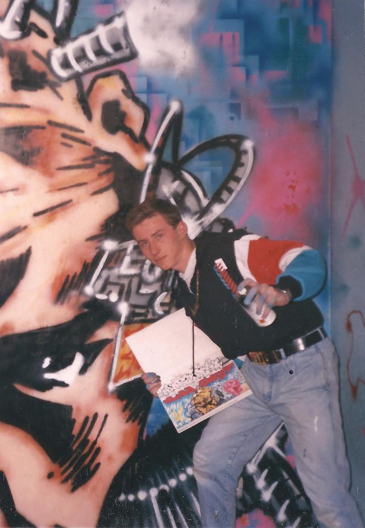 Kevin Foakes:DJ Food 1988