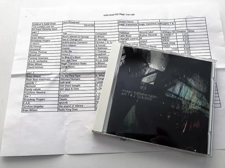 07 Magic Trans Radio CD + PRS