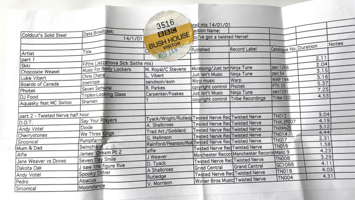 16 PRS sheet