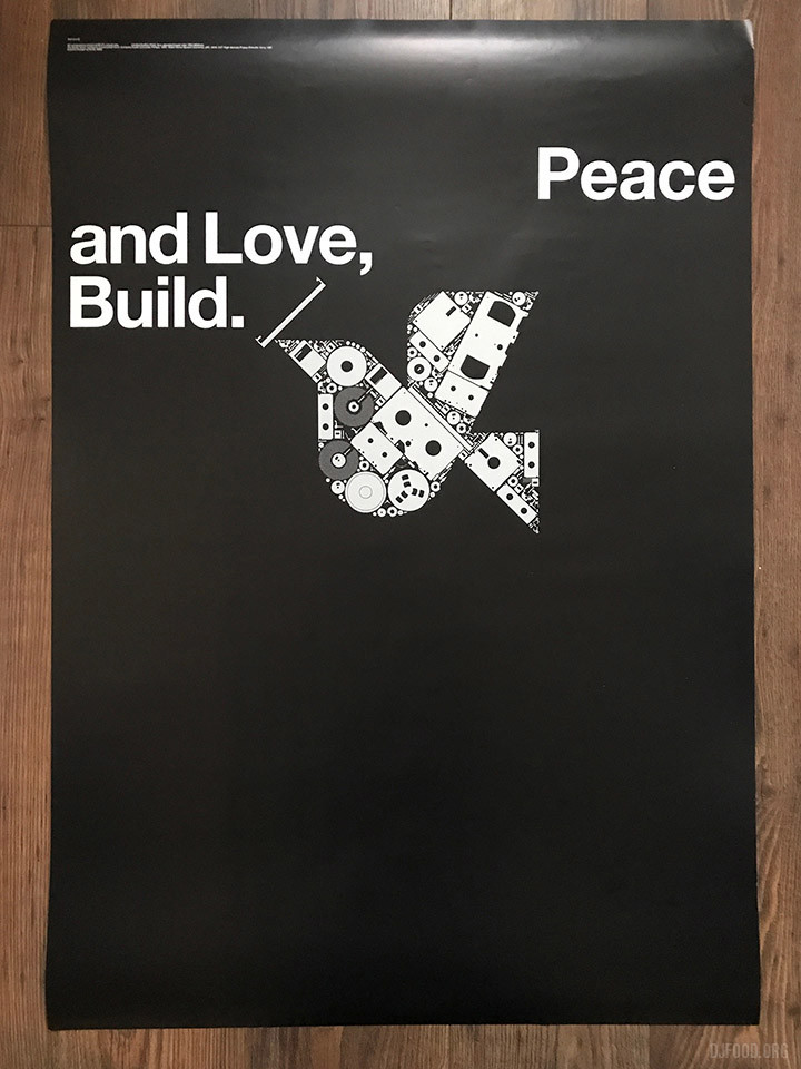 Peace & Love Build poster