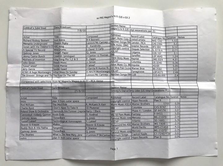 18 PRS sheet