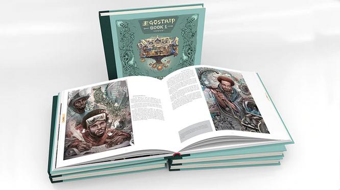 EgoStrip book