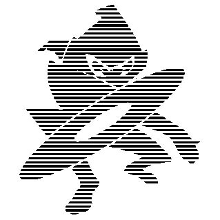 lined ninja