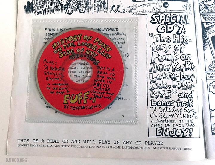 Fuff disc in case