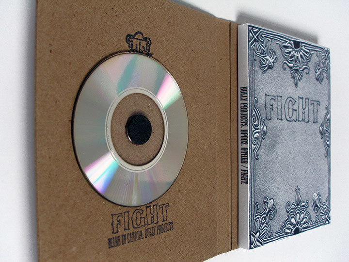 Fight book inside disc 2